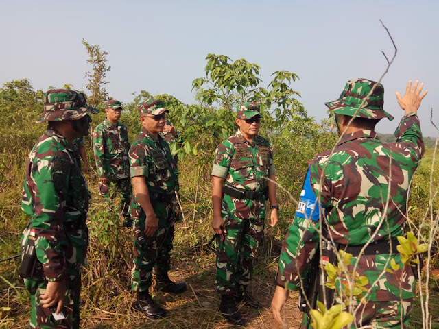 Pangdivif 1 Kostrad Tinjau Latihan UST di Puslatpur Baturaja