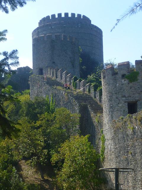Стамбул, крепость Румели (Istanbul, Rumeli Fortress).
