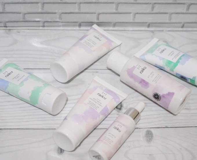 Review Raiku Beauty Anti Aging Series