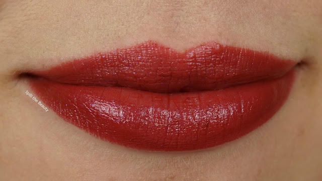 Quo Colour Lust Lipstick Review Swatches sinbad swatch