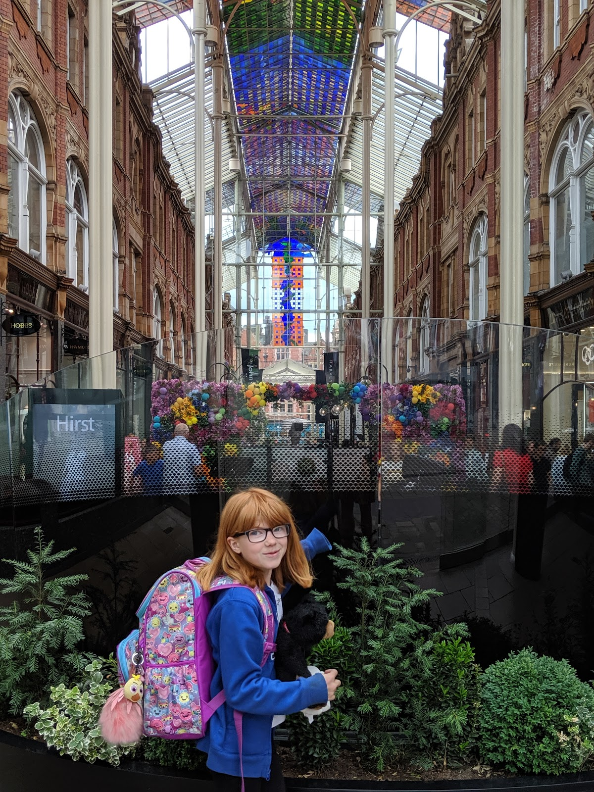 A Short Break in Leeds with Holidays by National Express  - Leeds shopping arcade