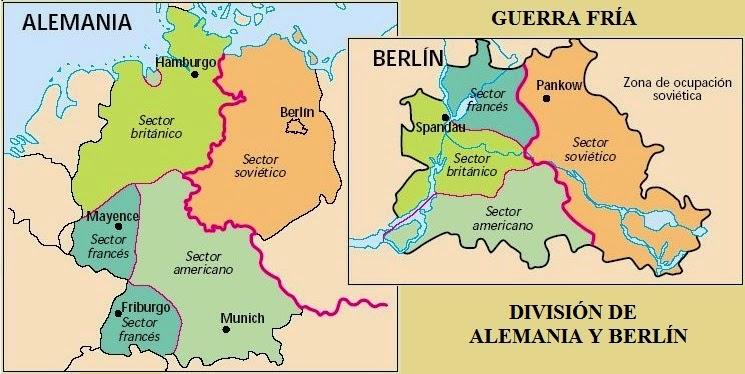 Resultado de imagen de blogspot, mapa alemania 1945