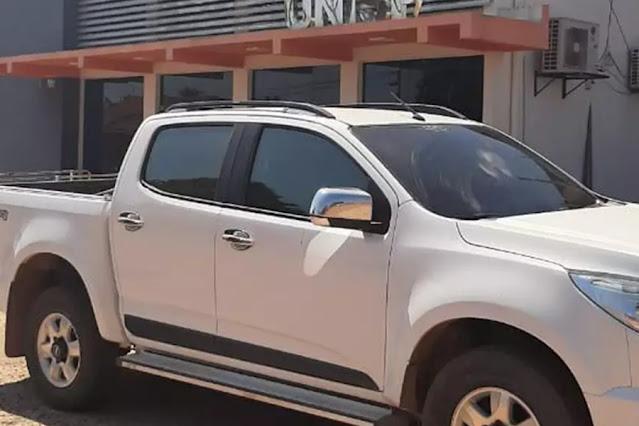 Caminhonete foi roubada em Porto Velho e recuperada quando estava a caminho da região de fronteira