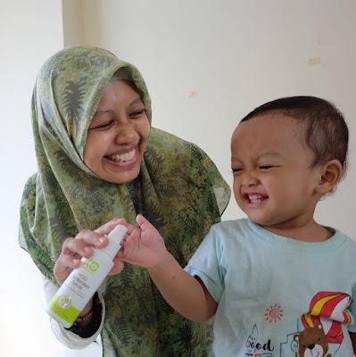 hand sanitizer aman untuk bayi