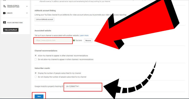 Youtube With Google Analytics