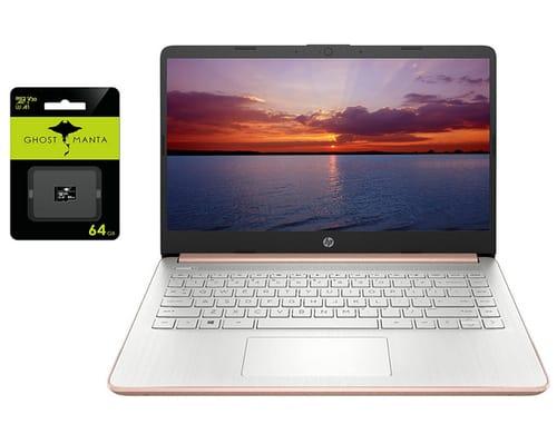 2021 HP 14 8GB RAM 128GB Storage Ultra Light Laptop