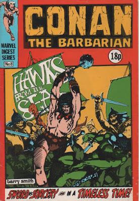 Conan the Barbarian pocket book #8