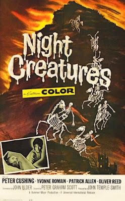 Poster - Night Creatures, aka Captain Clegg, 1962