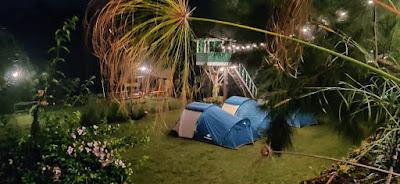 Camping ground situ cileunca