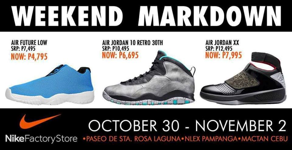 7a967b925c3fd3 Nike Factory Outlets Weekend SALE  Oct 30-Nov 2 2015