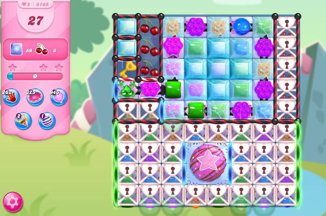Candy Crush Saga level 8165