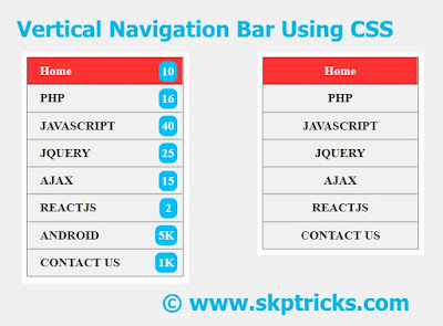 CSS Navigation Bar, How To Create a Top Navigation Bar