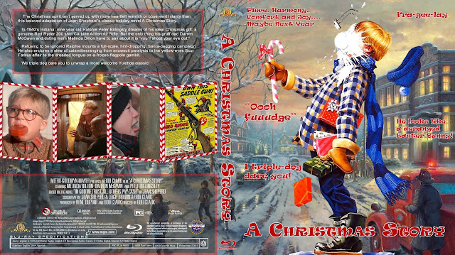 A Christmas Story Bluray Cover