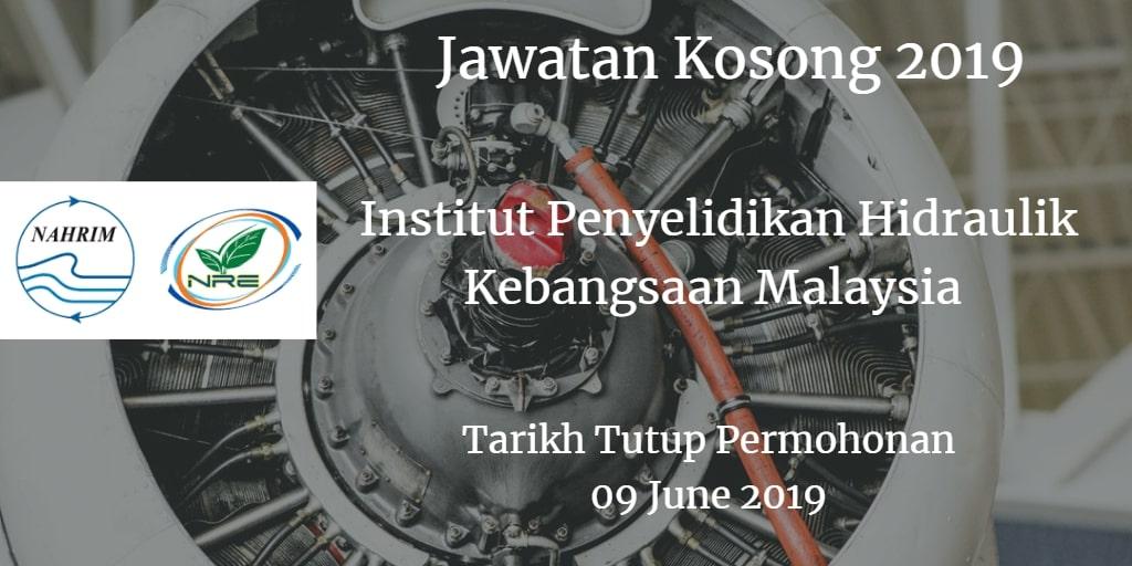 Jawatan Kosong NAHRIM 09 June 2019