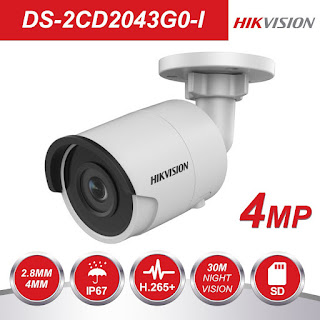 IP Camera HIKVISION DS-2CD2043G0-I 4mm