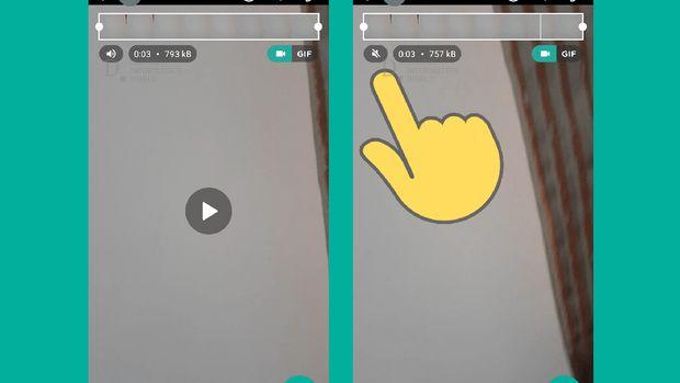 Ciri Baru WhatsApp: Bisukan Video