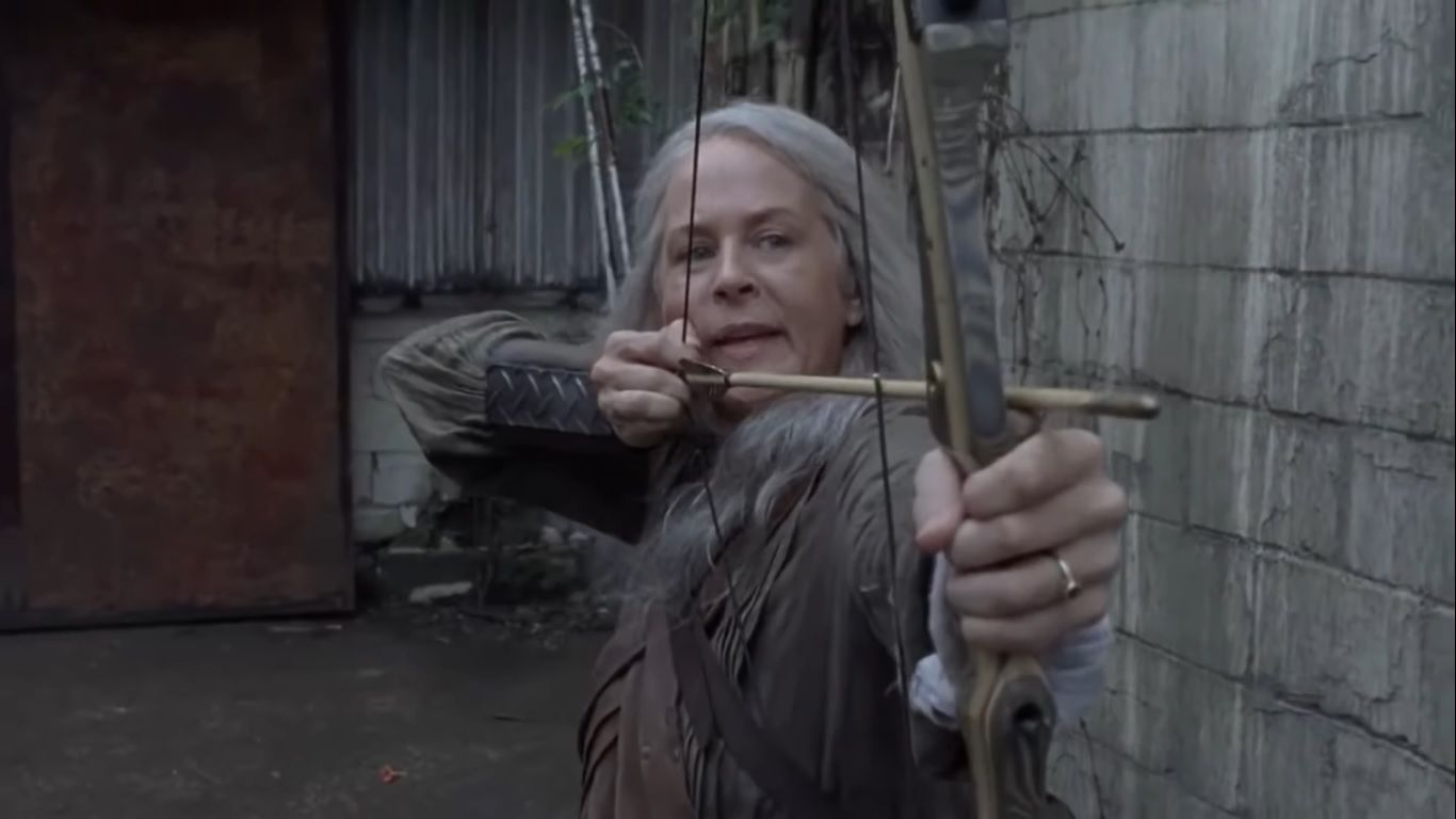 Carol, en el episodio 9x06 Who Are You Now? de The Walking Dead