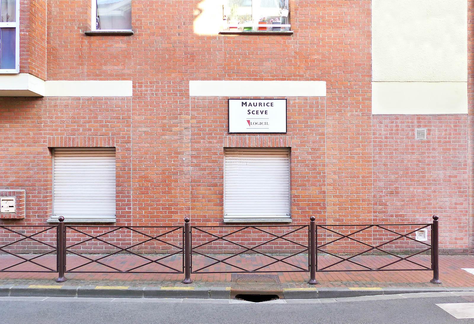 Résidence HLM Maurice Sève - Tourcoing, rue des Anges.