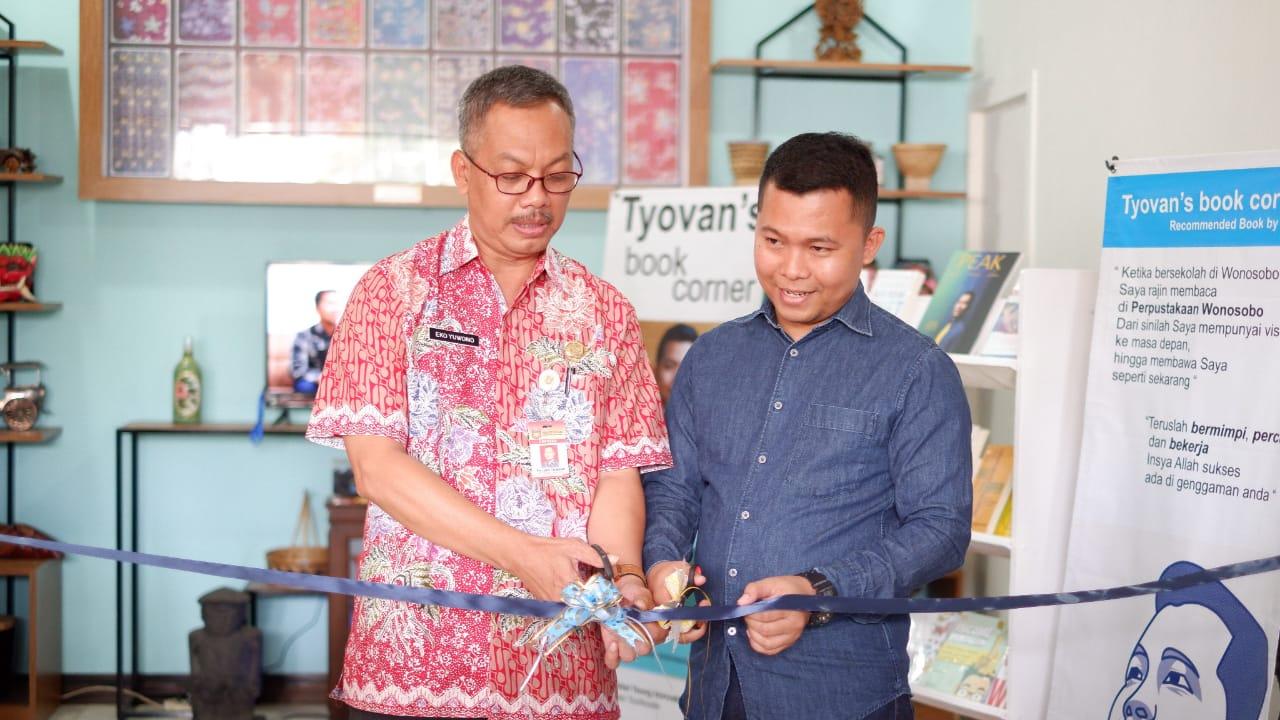 Ada Tyovan's Book Corner Di Arpusda Kabupaten Wonosobo