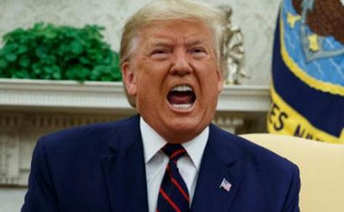 President Donald Trump. Photo courtesy CNN.COM
