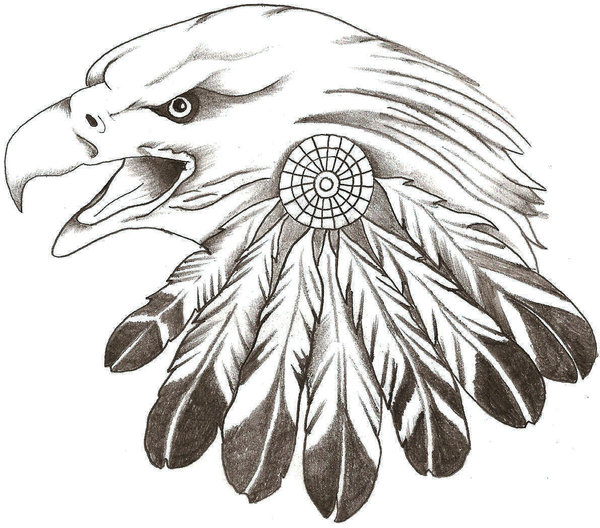 cherokee indian head coloring pages