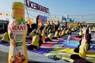 gerakan yoga saat haid