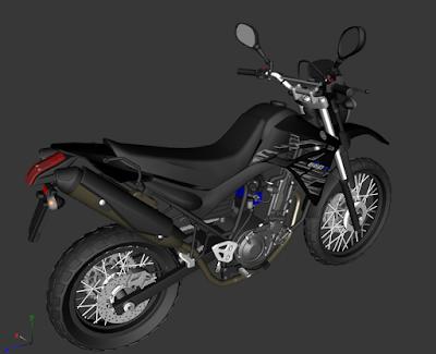 GTA SA - XT 660R 2015 BLACK
