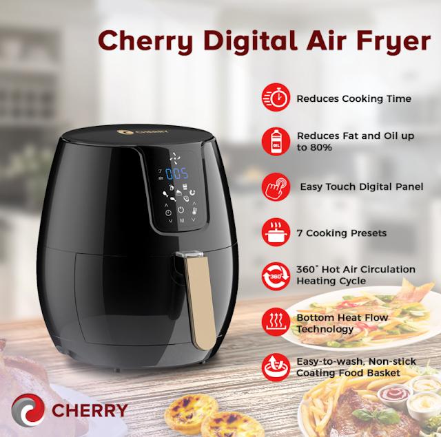 Cherry Digital Air Fryer, Air Fryer Philippines