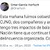 Omar Garcia Harfuch acusa al CJNG del atentado en su contra