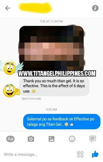 is titan gel safe and effective