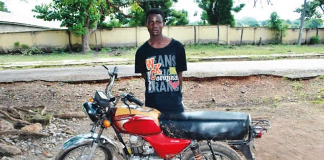 18-Year-Old Boy Claims He Stole In Order To Maintain His Girlfriend. Photo