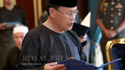 Biodata Penuh Datuk Osman Sapian MB Baru Negeri Johor