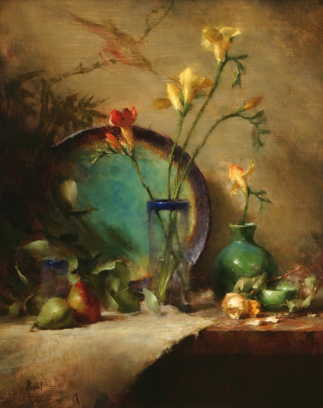 David Riedel 1956| Still life painter
