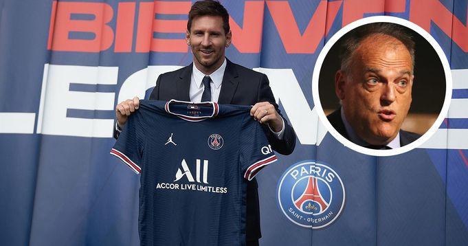 La Liga president criticizes PSG, likens them to Super League