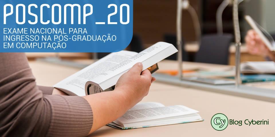 Inscrições e edital do POSCOMP 2020