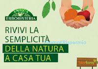 Logo Antica Erboristeria : vinci l'adozione di alberi e 5 kg. di frutta bio fresca