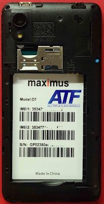 Maximus D7 FRP Reset File