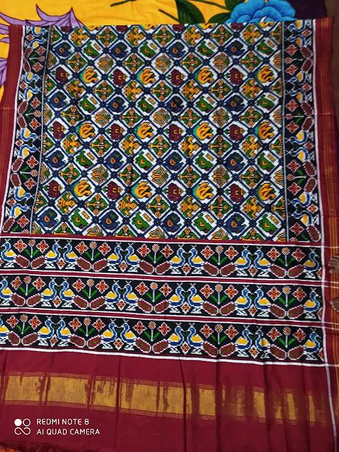 8 motif Patan Patola Saree