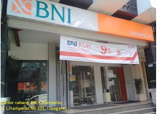 Simak Ini Alamat Cabang Kantor Bank Bni Aktif