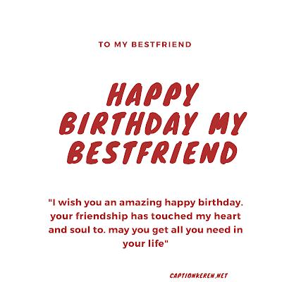 ucapan selamat ulang tahun untuk sahabat dalam bahasa Inggris
