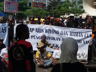 Aliansi LSM Karawang dan Lodaya Minta Bubarkan STTB