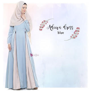 Gamis Valisha Adeeva Dress Blue