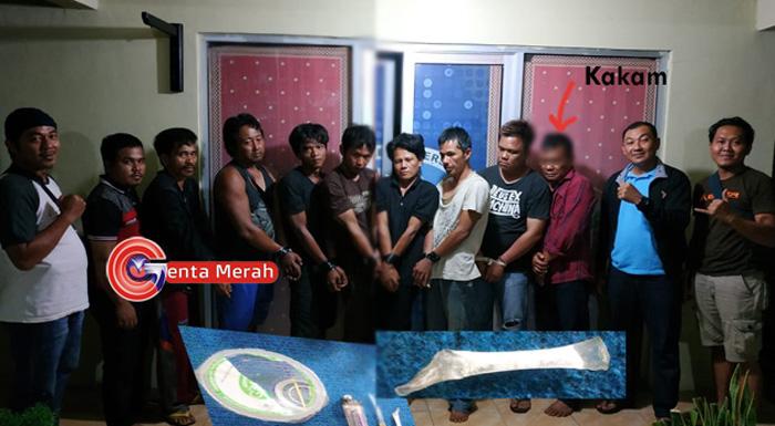 Sedang Pesta Shabu di Balai Kampung, Kakam di Kasui Digrebek Polisi