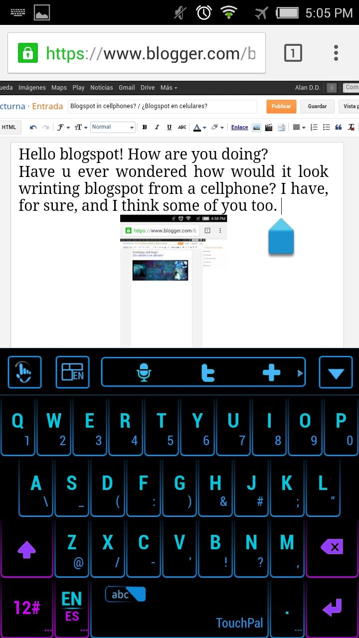 Tinta Nocturna Using The Tarot Cards Usar Las Cartas: Blogspot In Cellphones? / ¿Blogspot En Celulares?