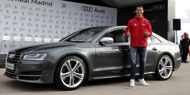 Audi entrega hoy los nuevos vehículos a los cracks del Madrid