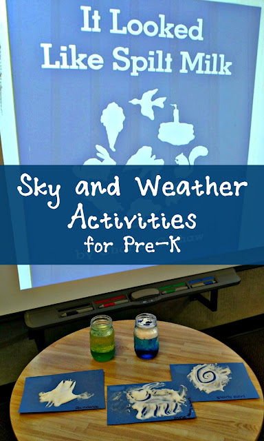Sky and Weather Activities for Pre-K | Apples to Applique