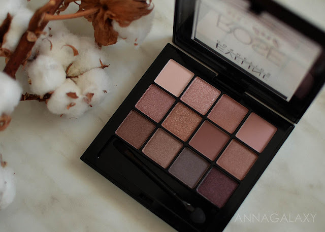 Упаковка Eveline cosmetics палетка теней All in One Rose