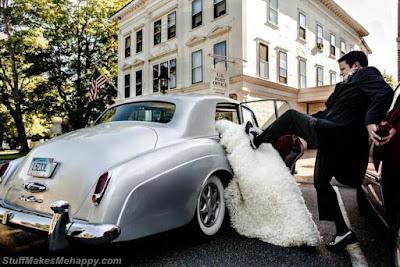 Impatient groom