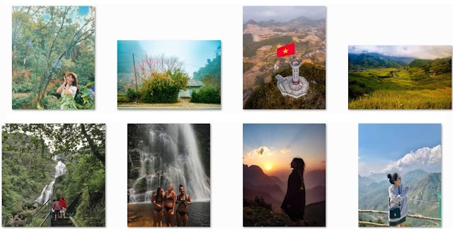 Series of beautiful check-in spots to 'drag' young people to Ha Giang and Sa Pa