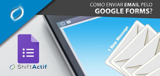 Como criar um formulário de contato com Google Forms?